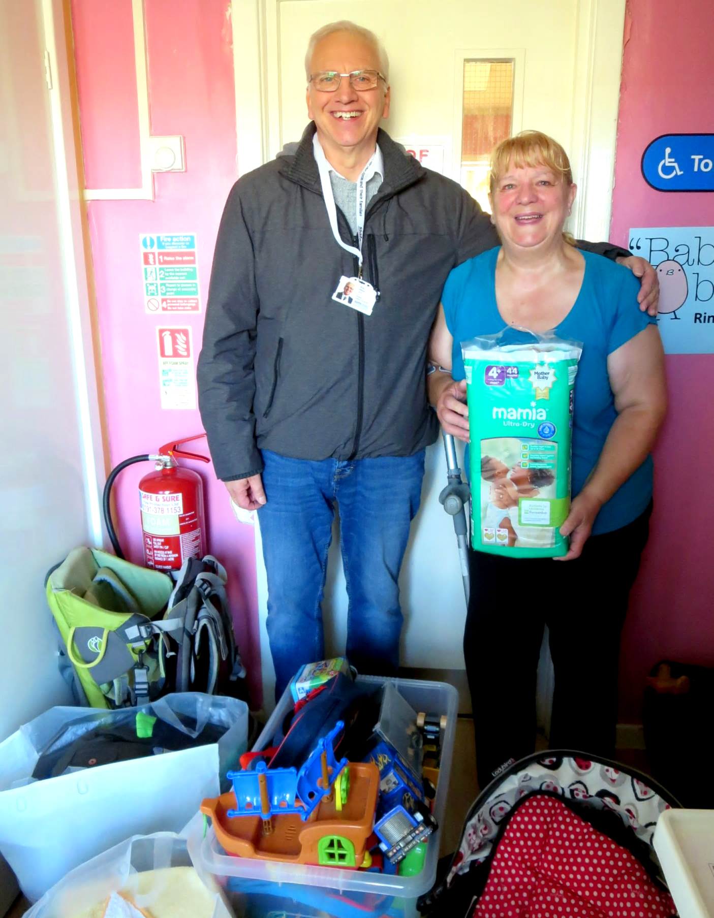 Community Partners Co-operate to Help Aycliffe Needy Family