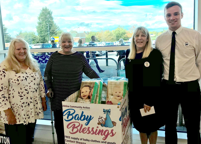 Children's Blessings Donation Point at Tesco