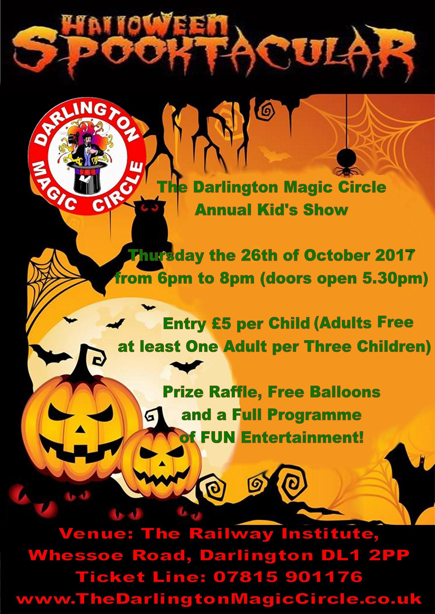 Darlington Magic Circle Show