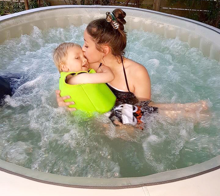 GACAP Help Disabled Infant with Therapy Pool