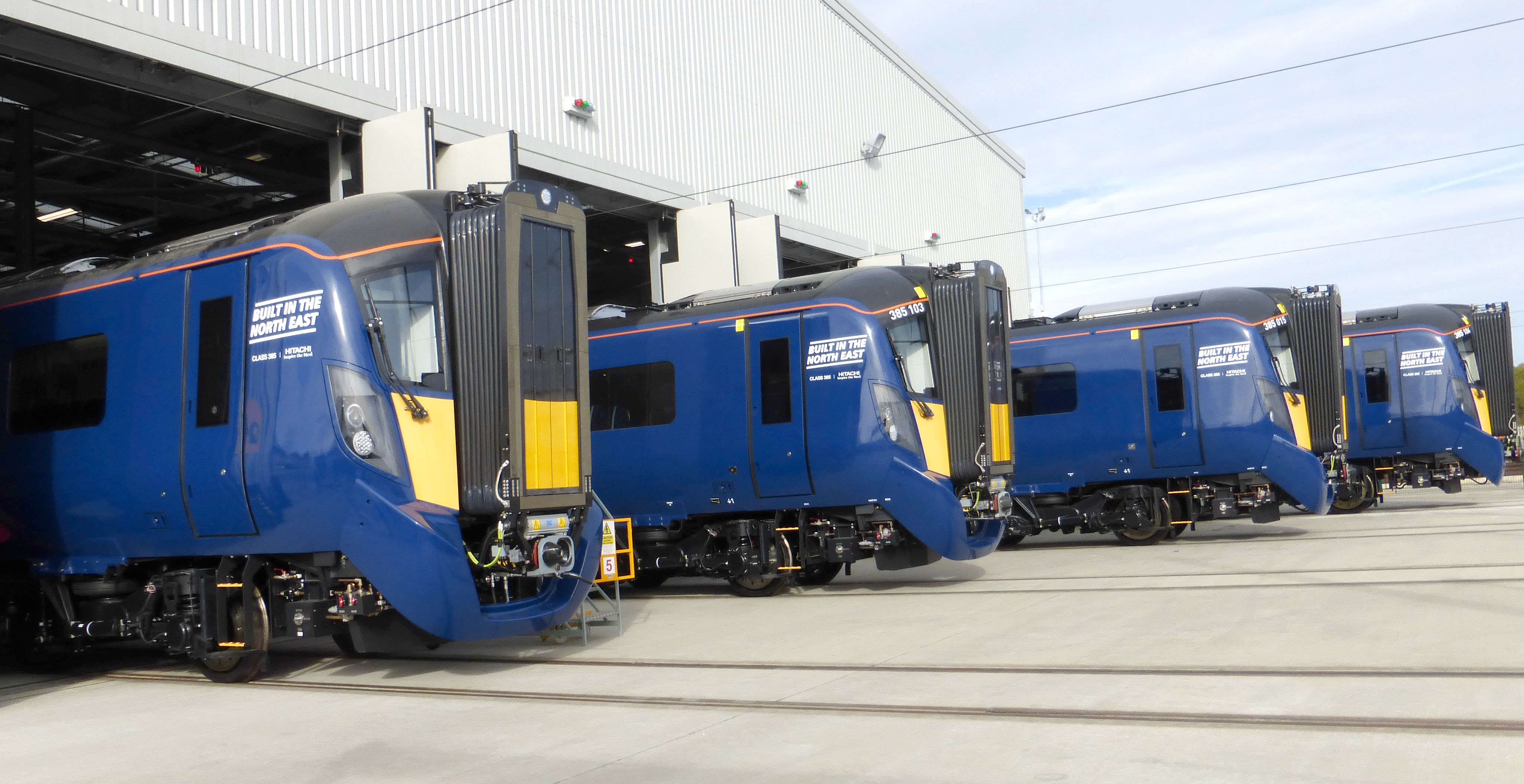 Hitachi Trains Enter Service on Great Western Route