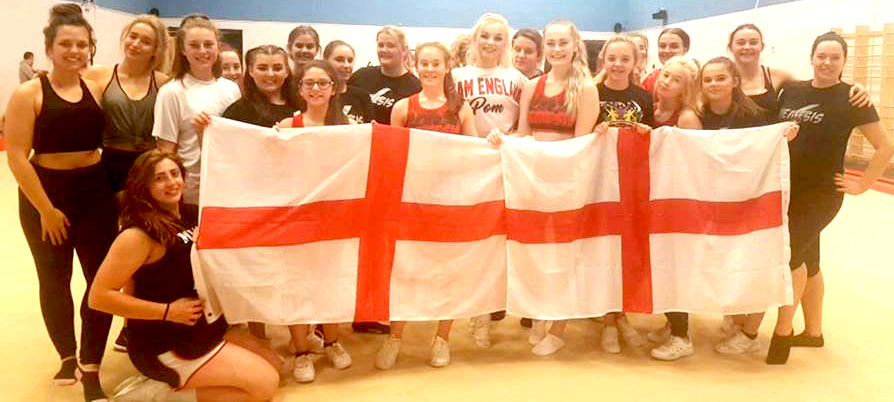 Aycliffe Cheerleaders Chosen to Represent England in Florida