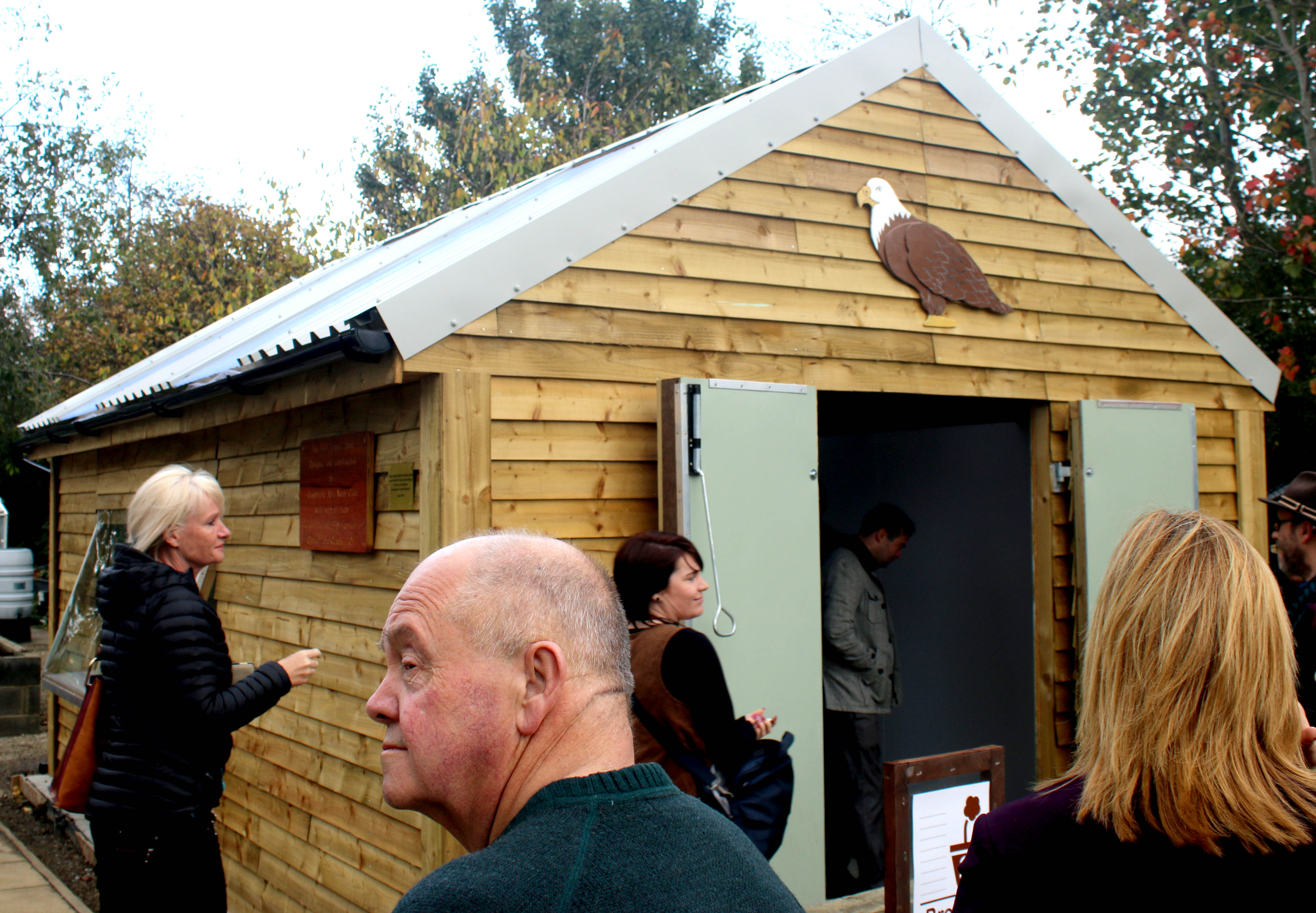 Volunteers & Donors Complete New Shed for PCP