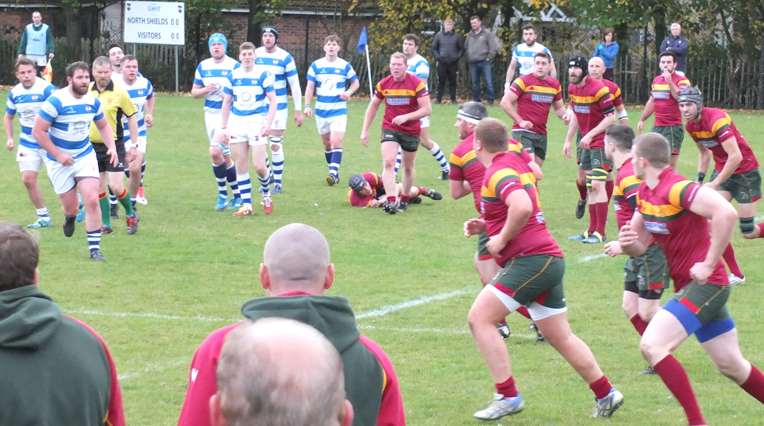 Aycliffe Snatch Victory from Unbeaten North Shields