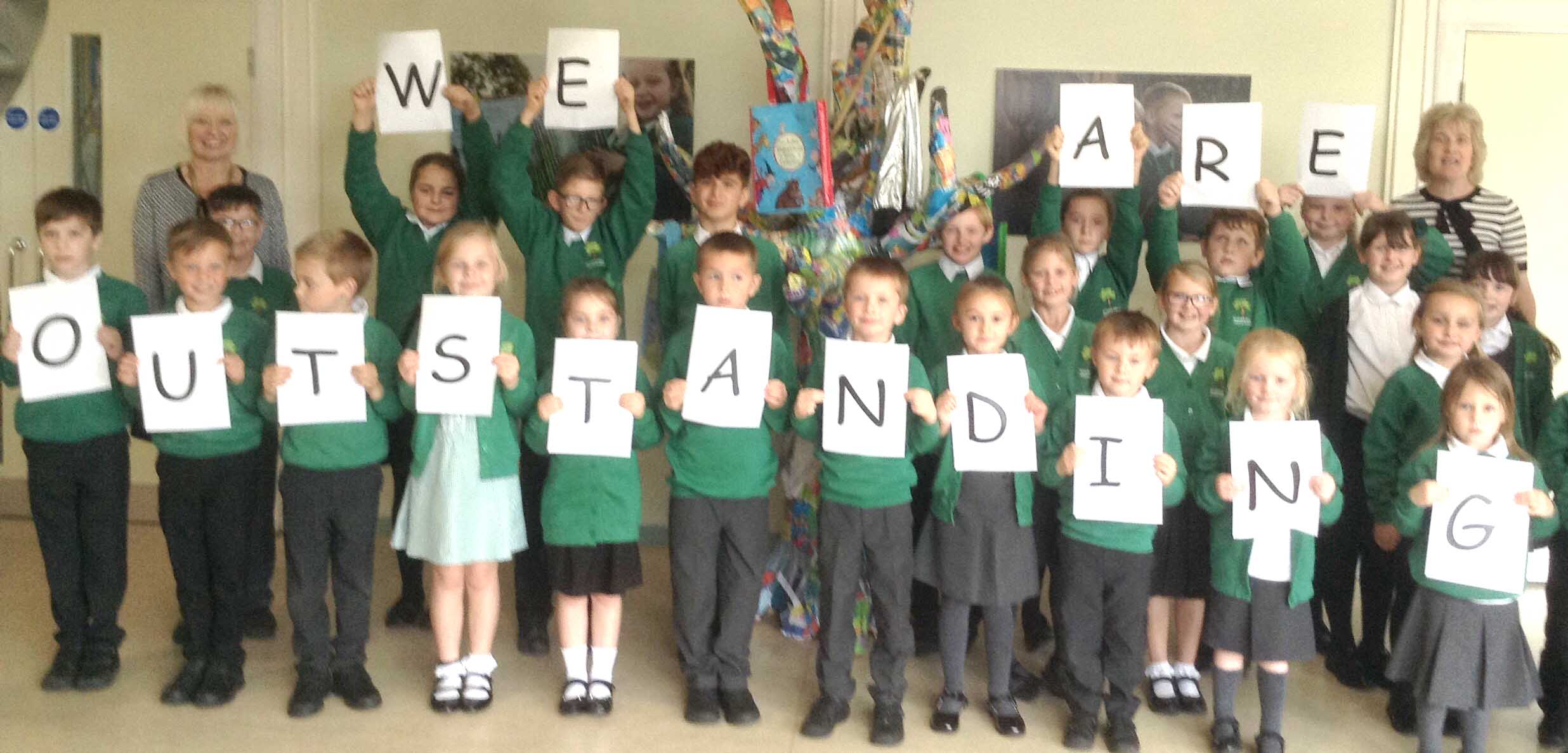 "Sugar Hill Primary School Gain ""Outstanding"" Ofsted"