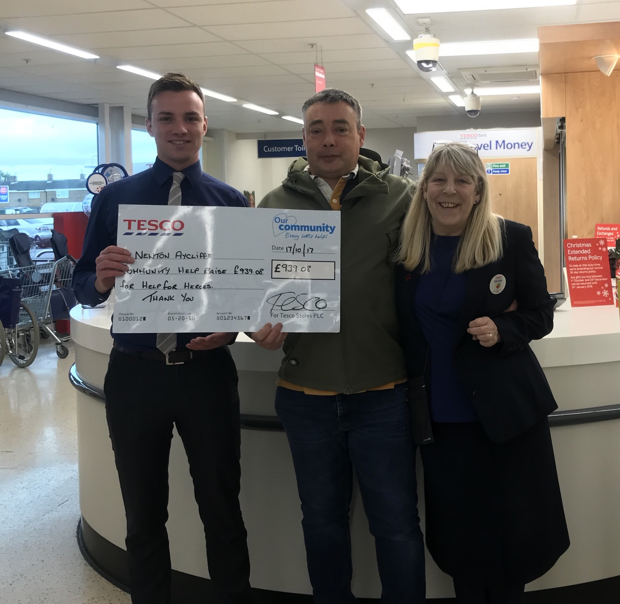 Help for Heroes Fundraising at Tesco
