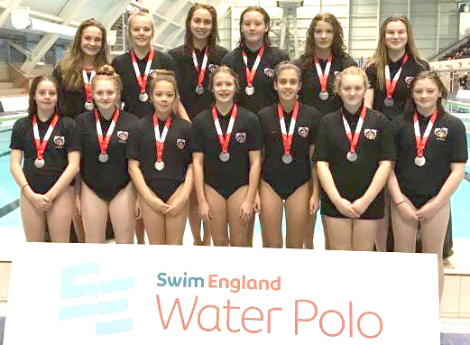 Aycliffe Polo Swimmers in Manchester Tournament