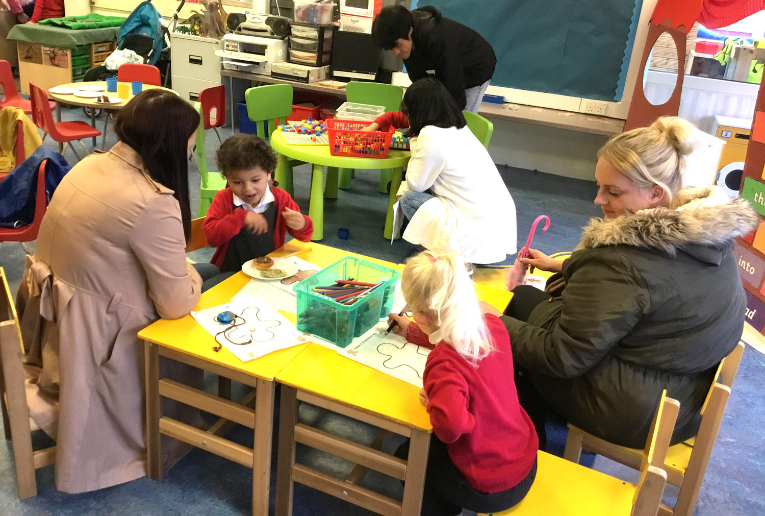 Meet the Teacher Event at Woodham Burn Primary School