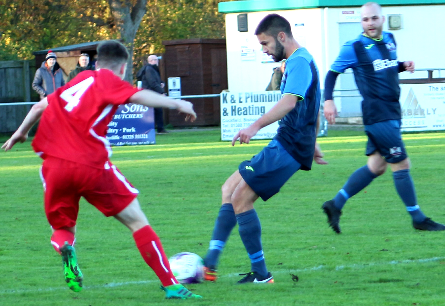 Aycliffe Beat Local Rivals