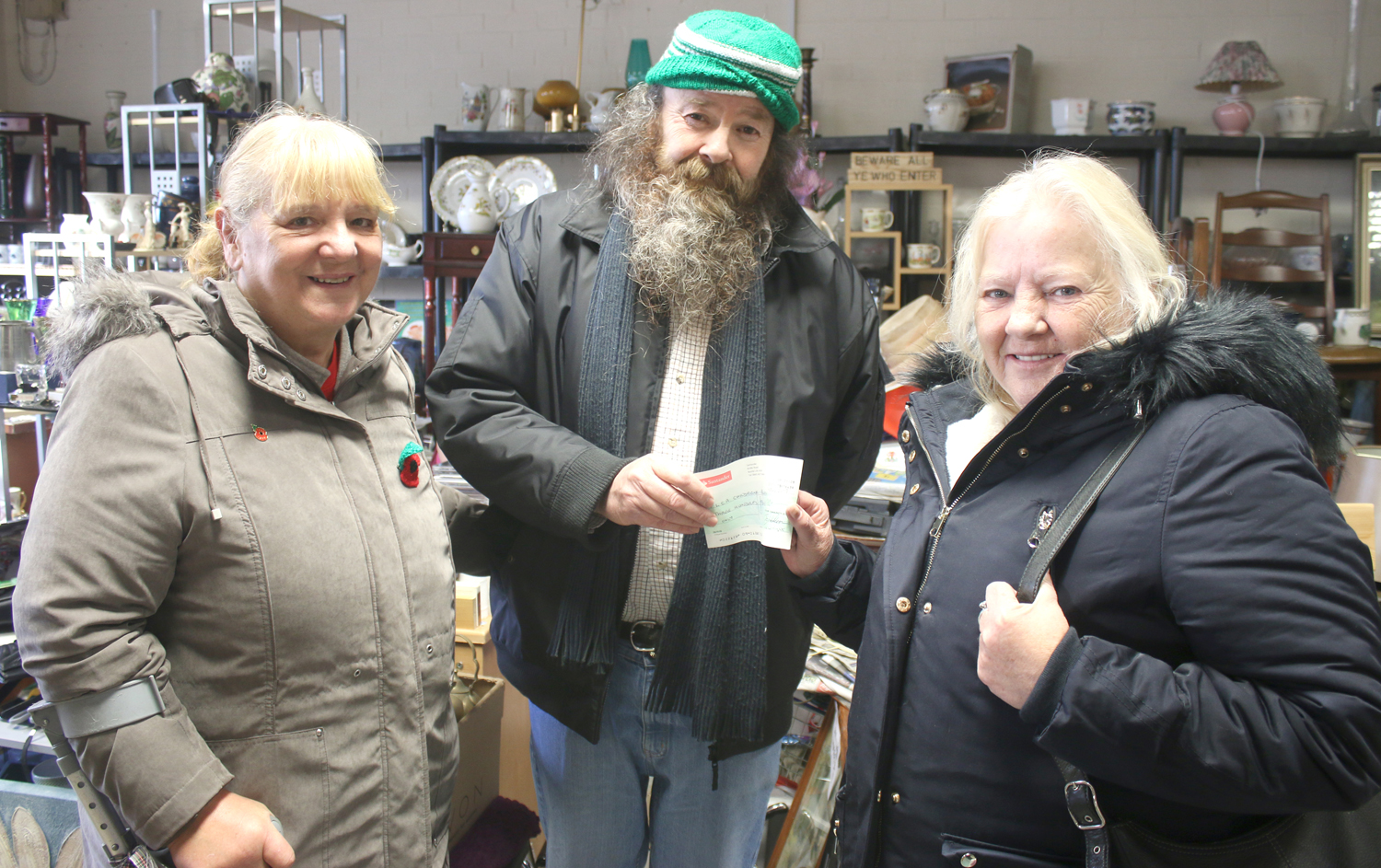 Honest John Helps Local Children's Charity