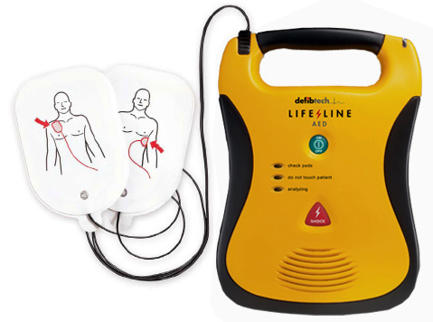 Thanksgiving Service for Defibrillator at St. Clare's