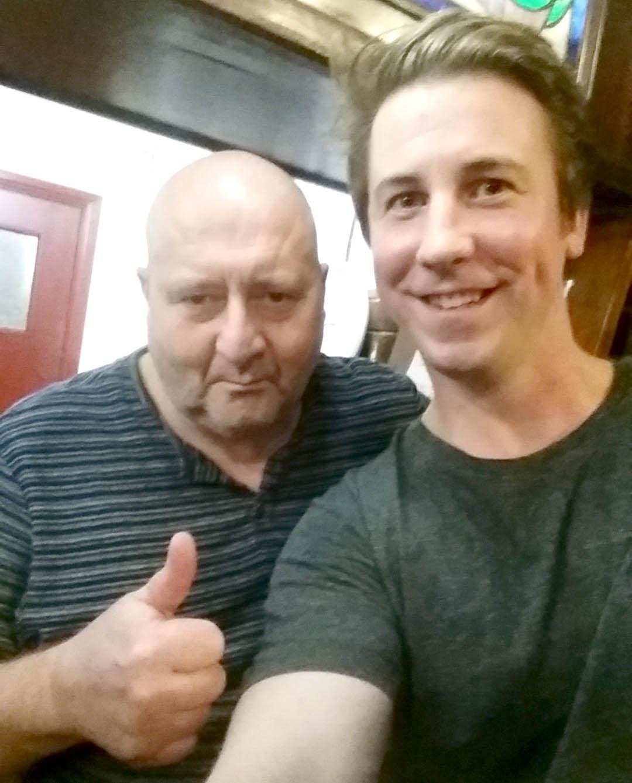 TV Star at Town's Award Winning Pub