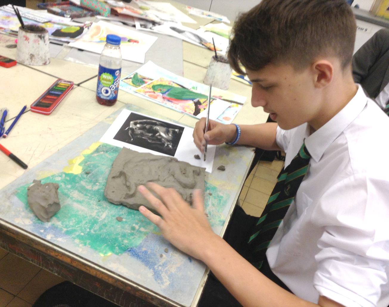 After School Art Lessons at Woodham Academy