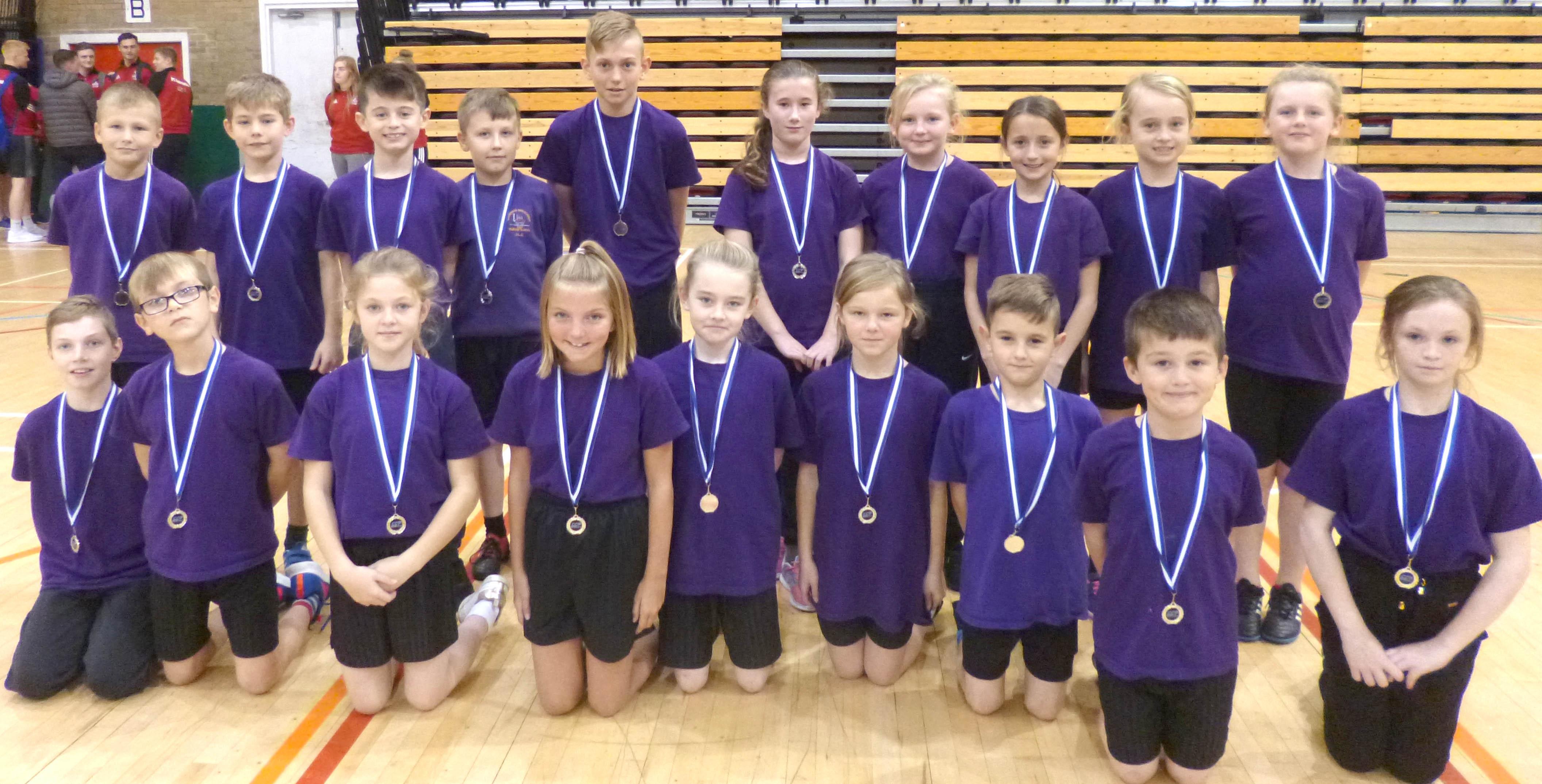 Silver for Stephenson Way School Team