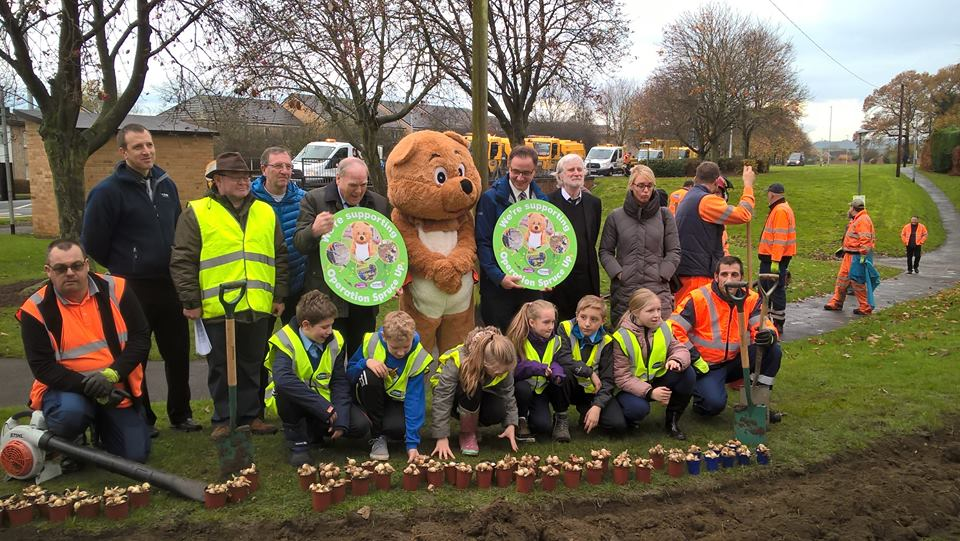 Council Spruce-up in Aycliffe
