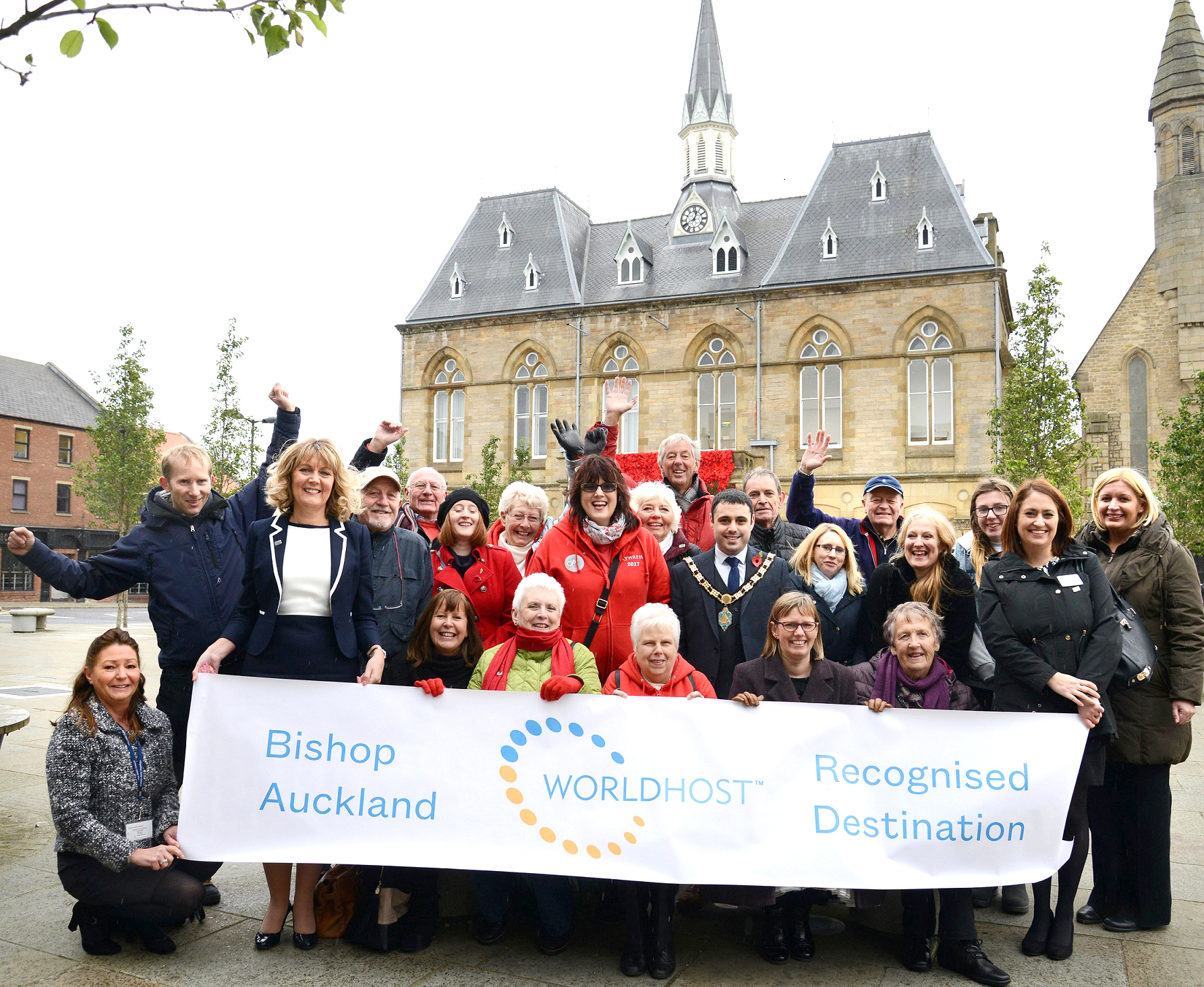 Bishop Auckland Prepares to Host 1000's of New Visitors