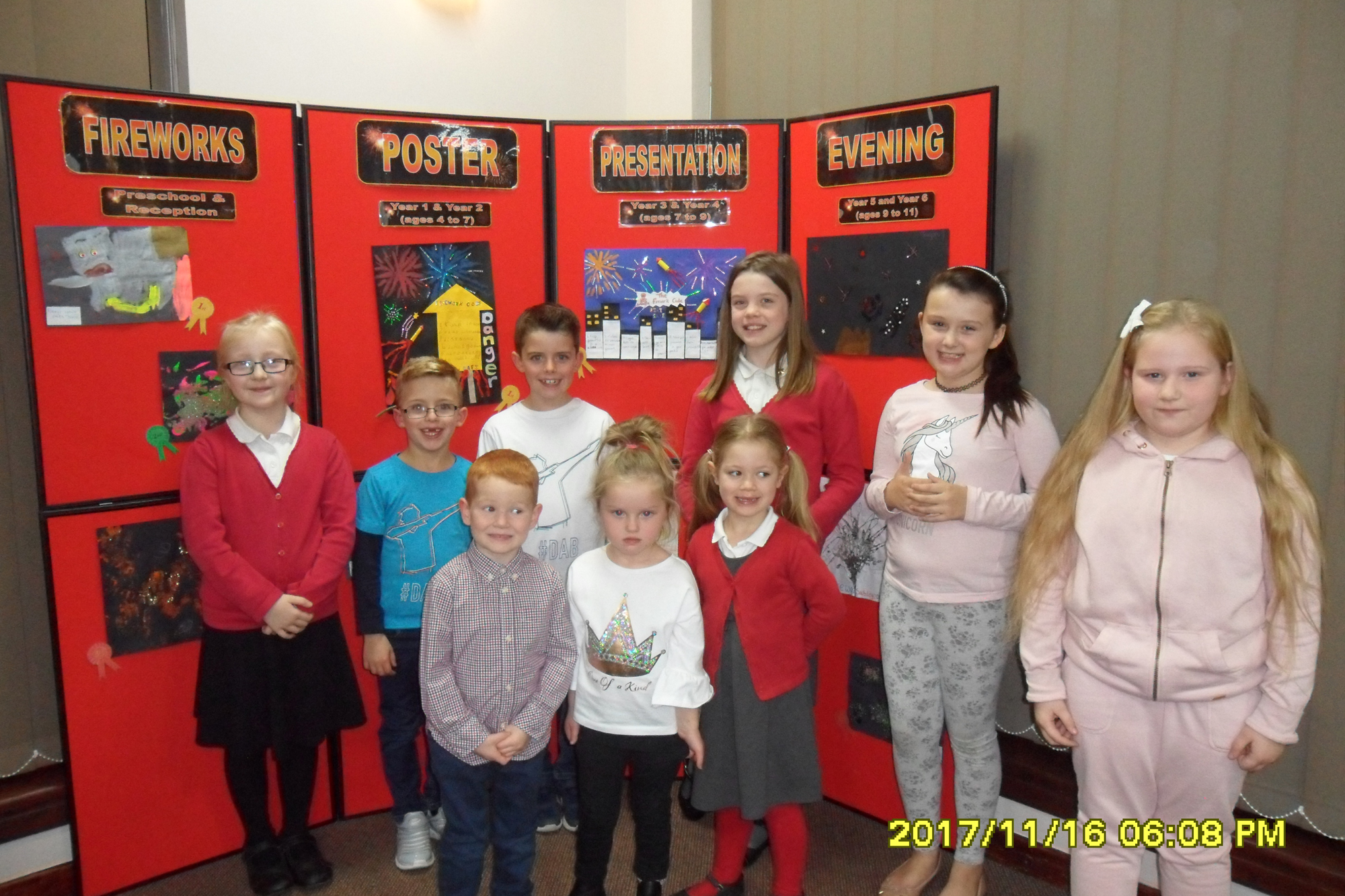 Firework Safety Poster Competition Winners
