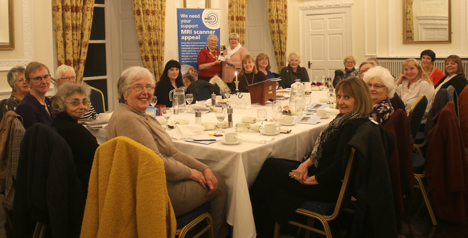 Inner Wheel Club's Generous Support for MRI Appeal