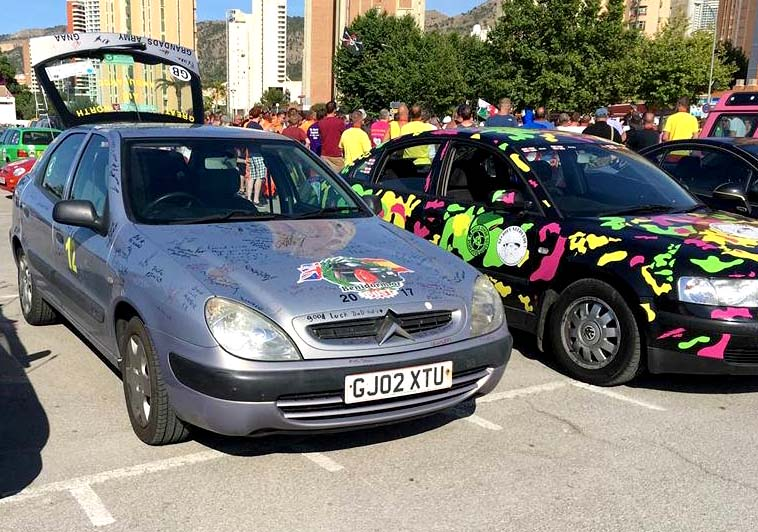 Newtonian to Repeat Benidorm or Bust Rally