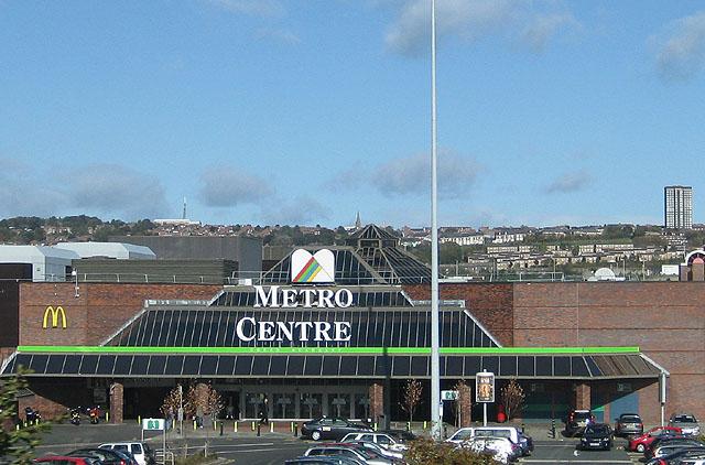 Metro Centre Bus Trip – £10