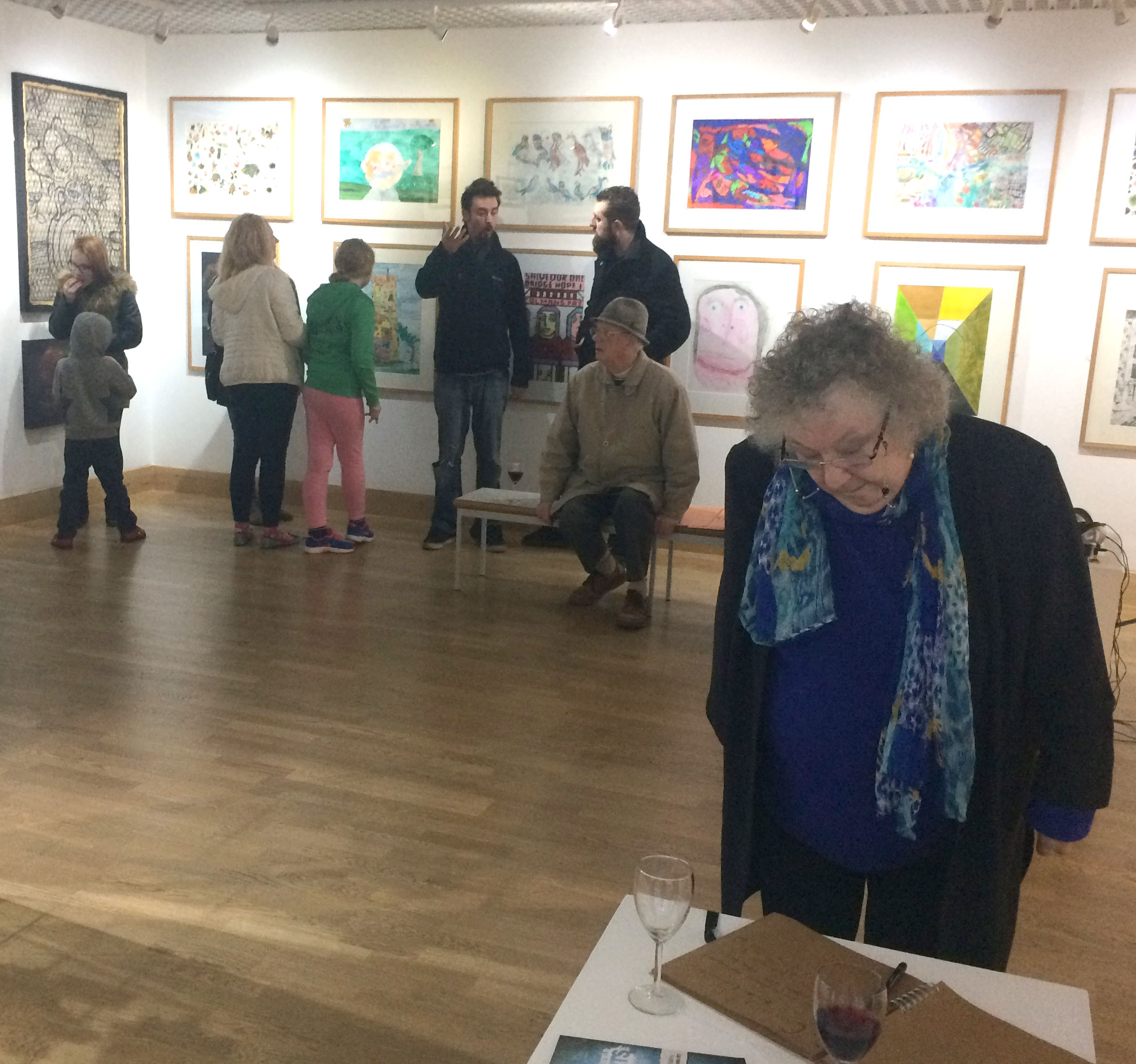 Show Your Work at Open Art Exhibition
