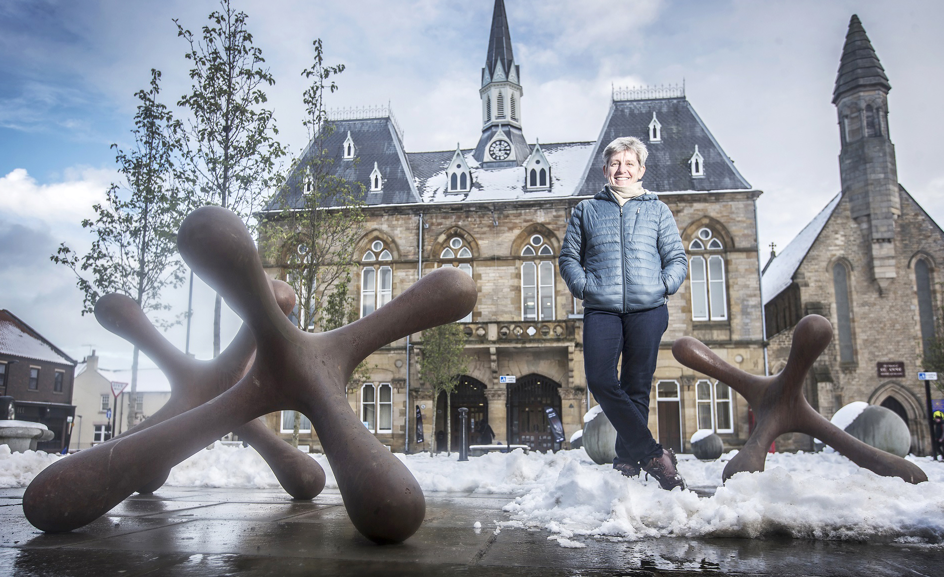 Art Installation Moves to Bishop Auckland