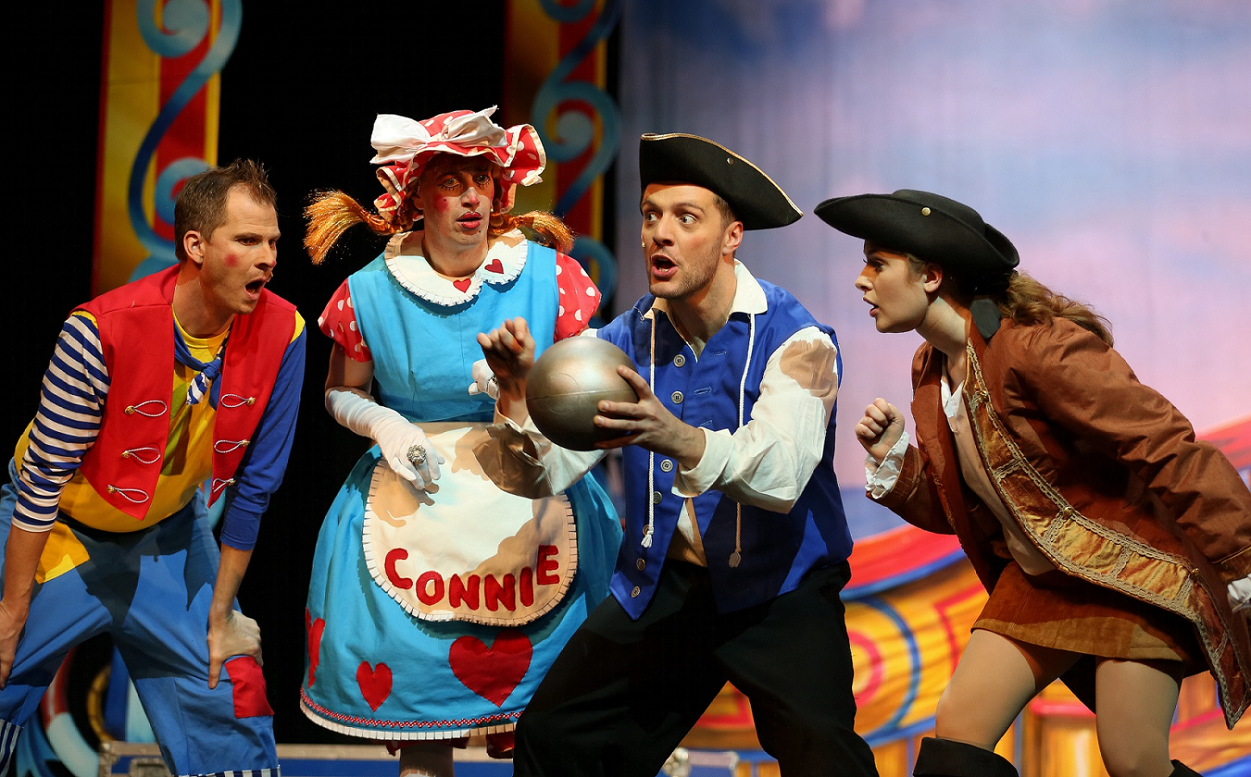 Success for Gala's Swashbuckling Pantomime