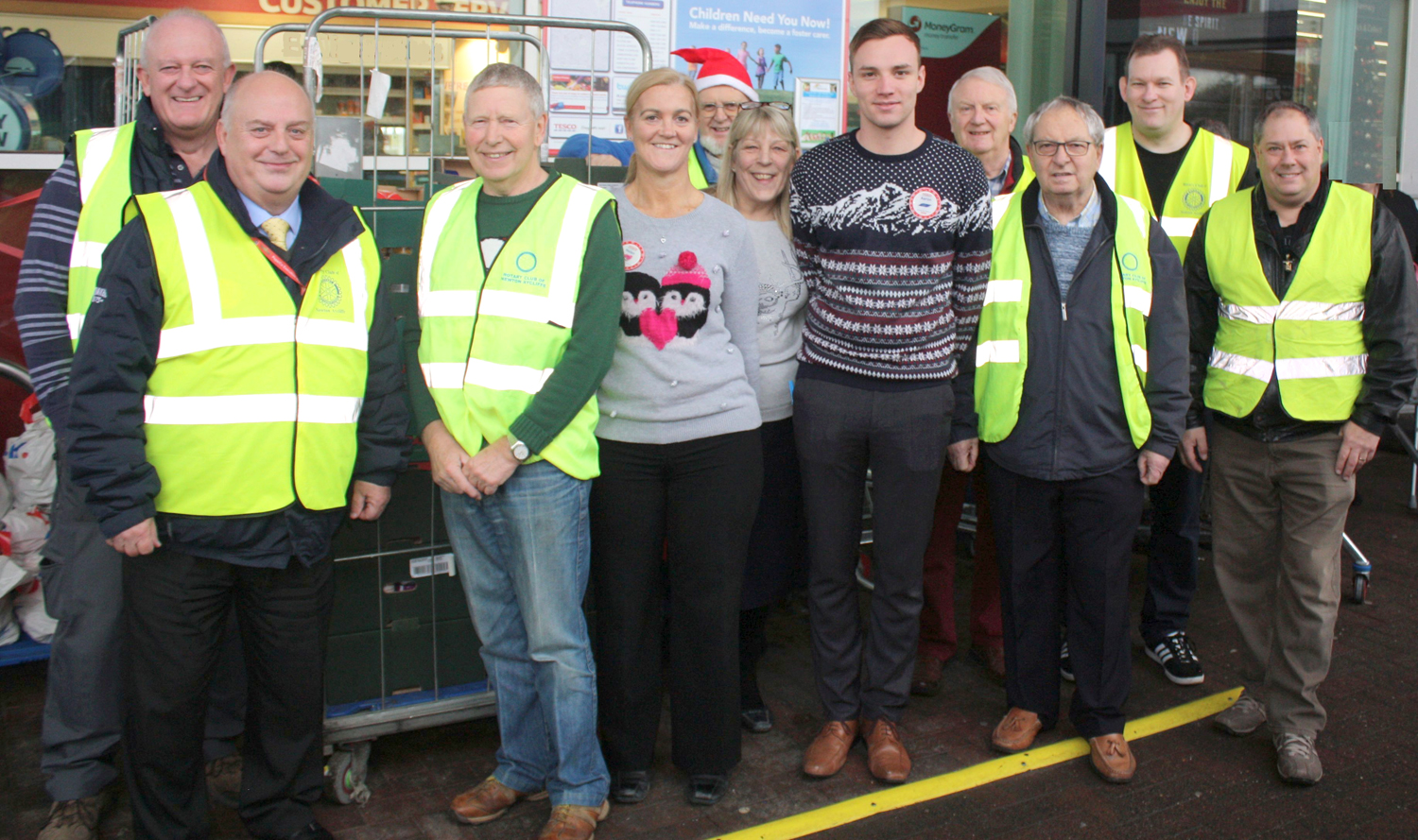 Rotary Club Christmas Appeal Helps Town's Needy Families