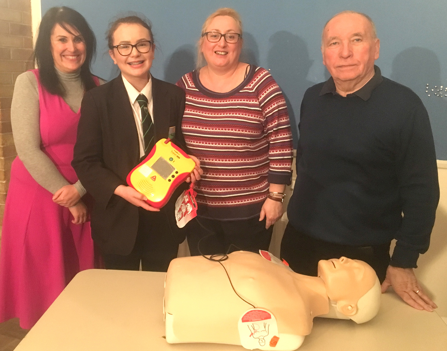 Youngsters Learn About Emergency Heart Attacks