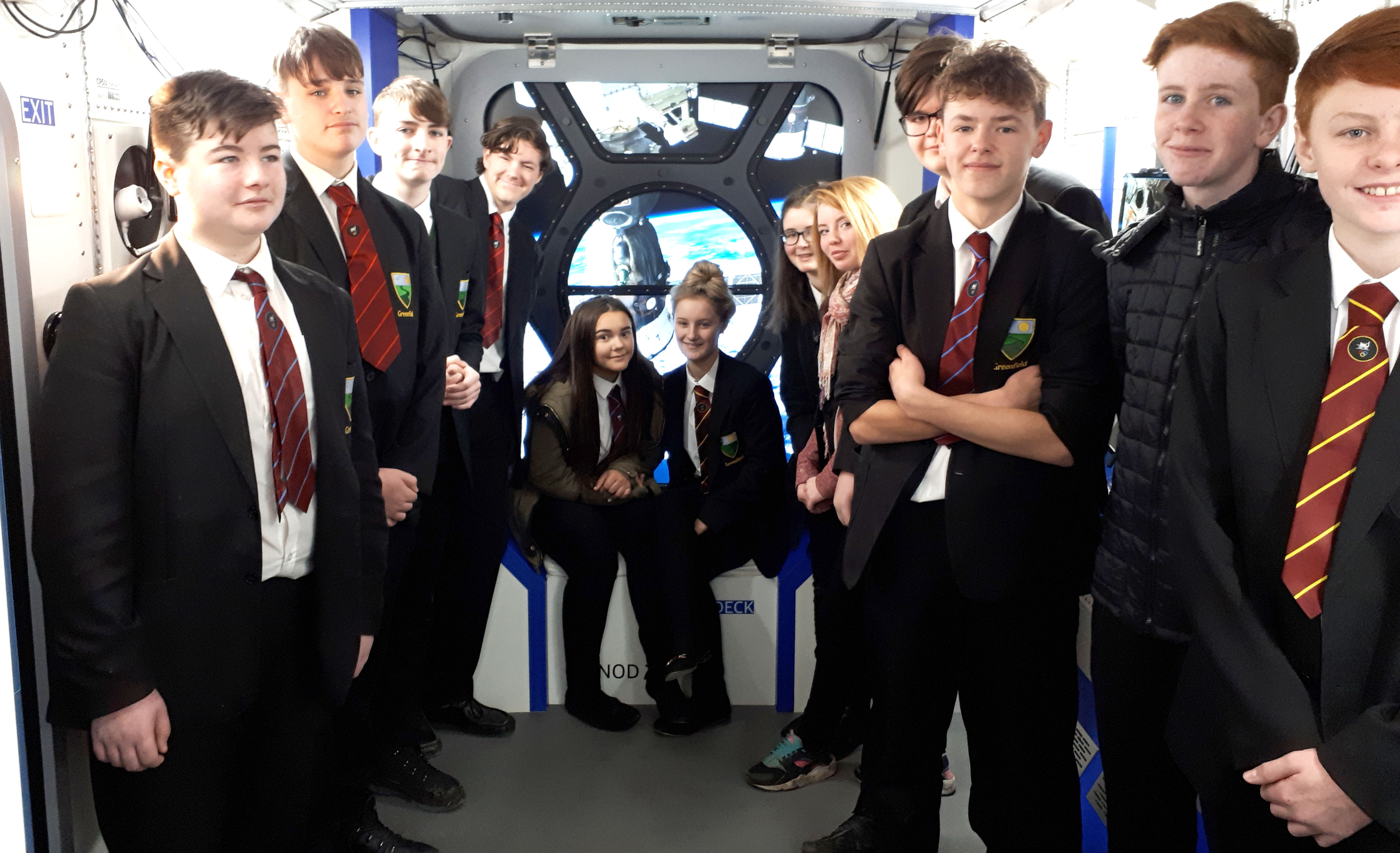 Greenfield Students Become Peak Virtual Astronauts