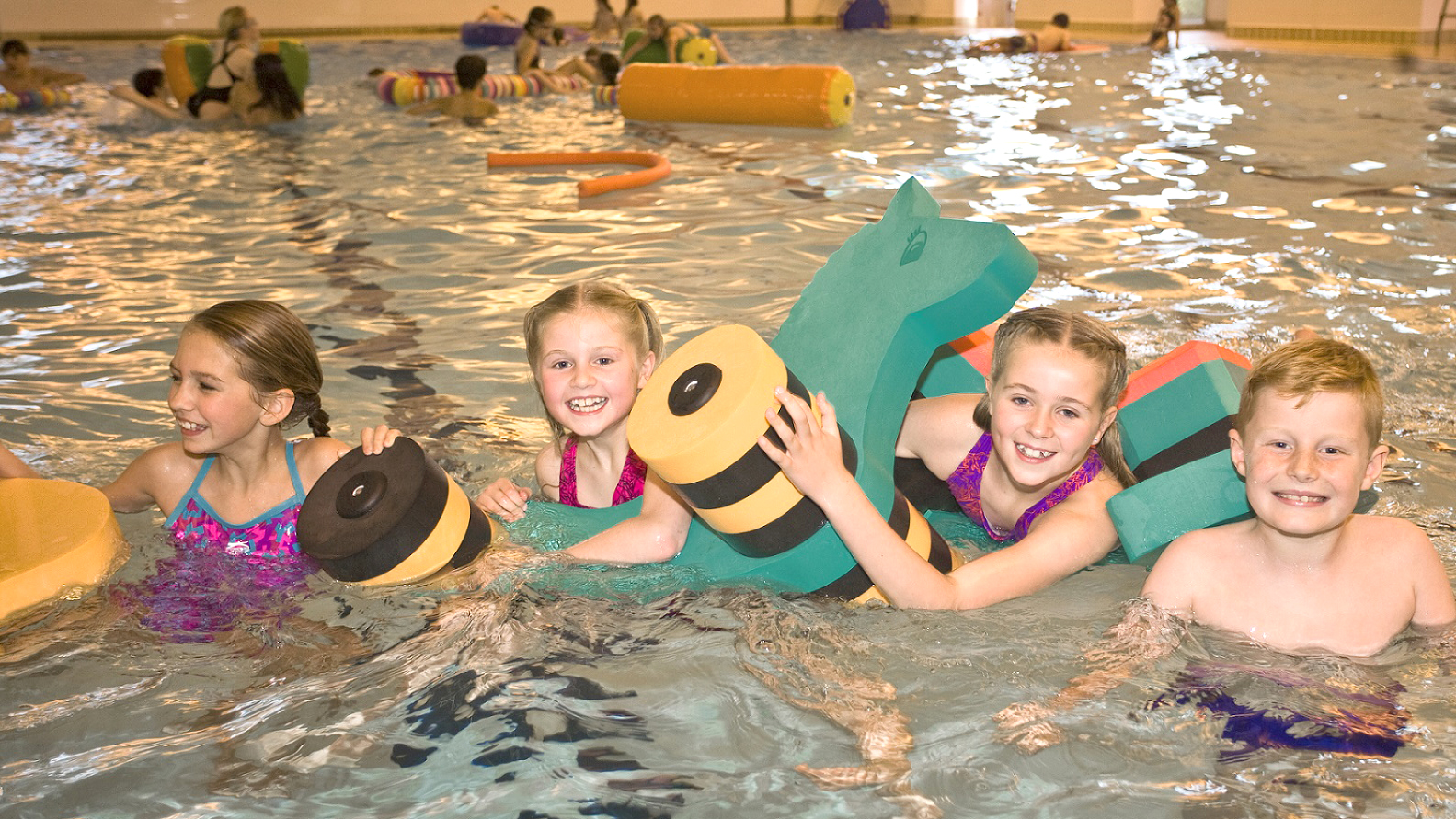 Family Fun Sessions in the Leisure Centre Pool
