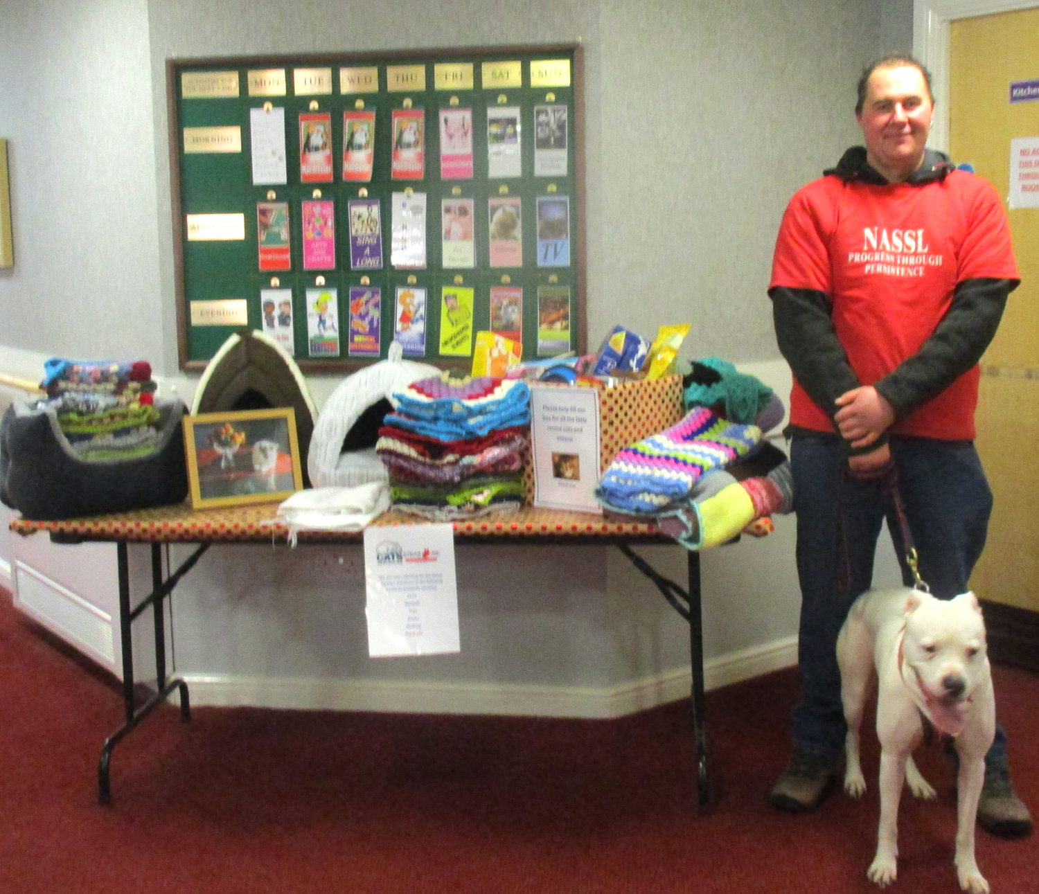 Rose Lodge Care Home Collect for Pet Charity