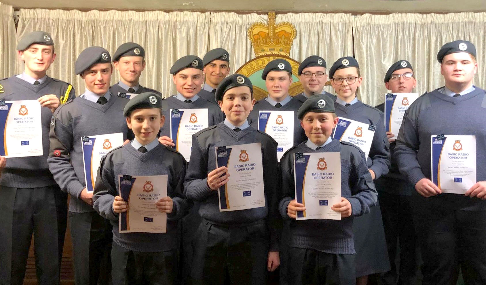 Presentation Night for Town's Air Cadets