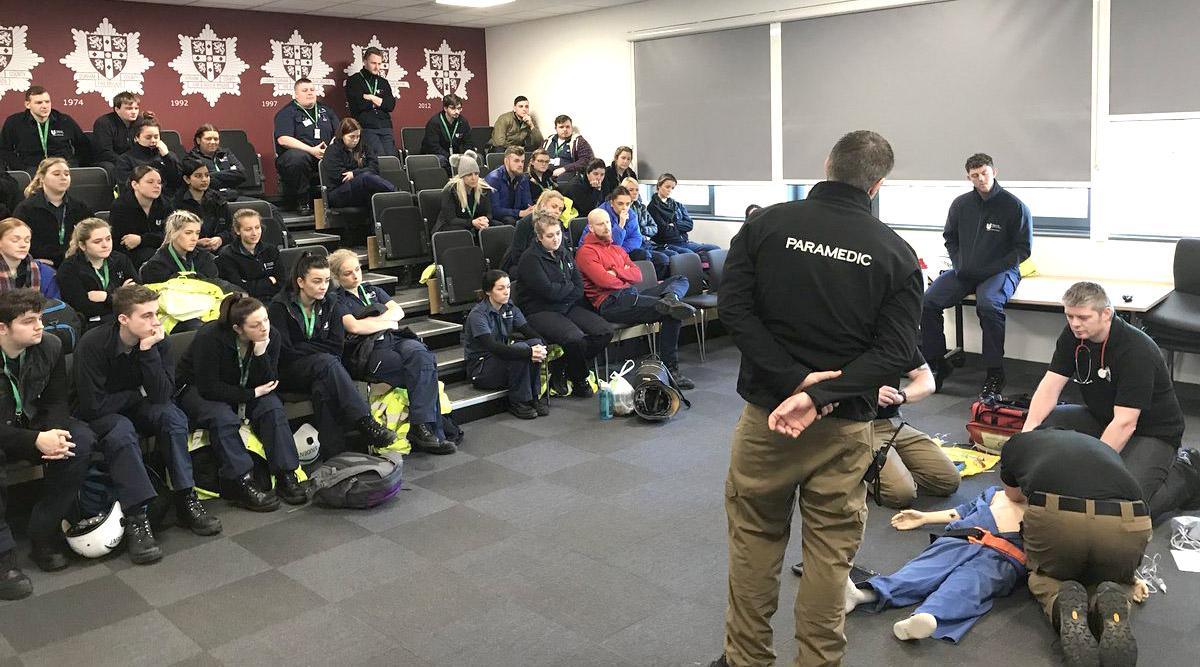 GNAAS Give Training to Future Paramedics