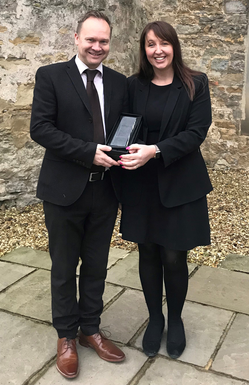Walworth Castle Wins Hotel of the Year National award