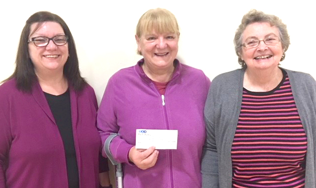 Cheques for Aycliffe Children's Charity