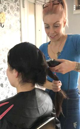Hair Cut for Princess Trust Charity