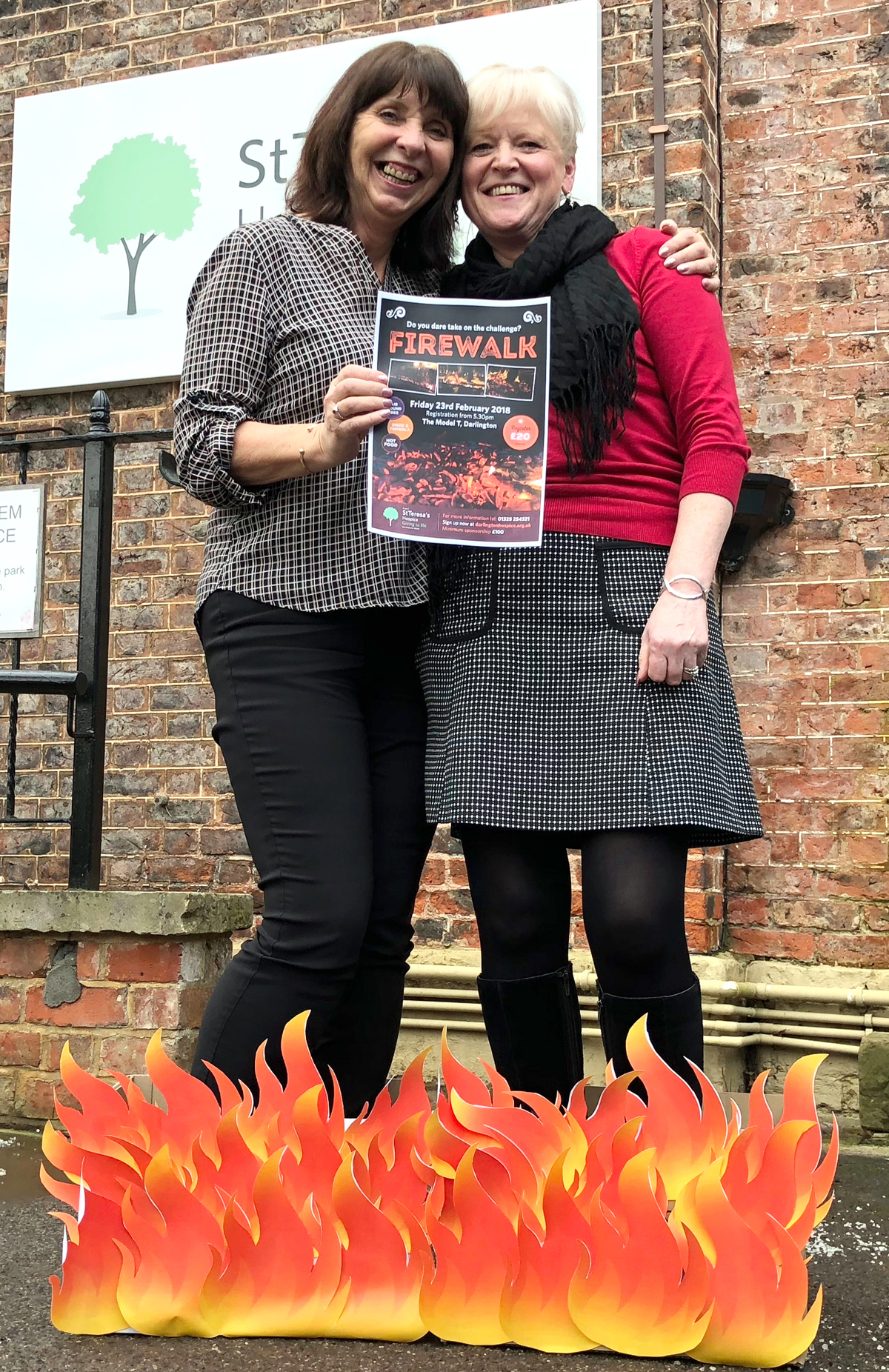 Brave Fire Walkers Wanted for Local Hospice Fundraiser