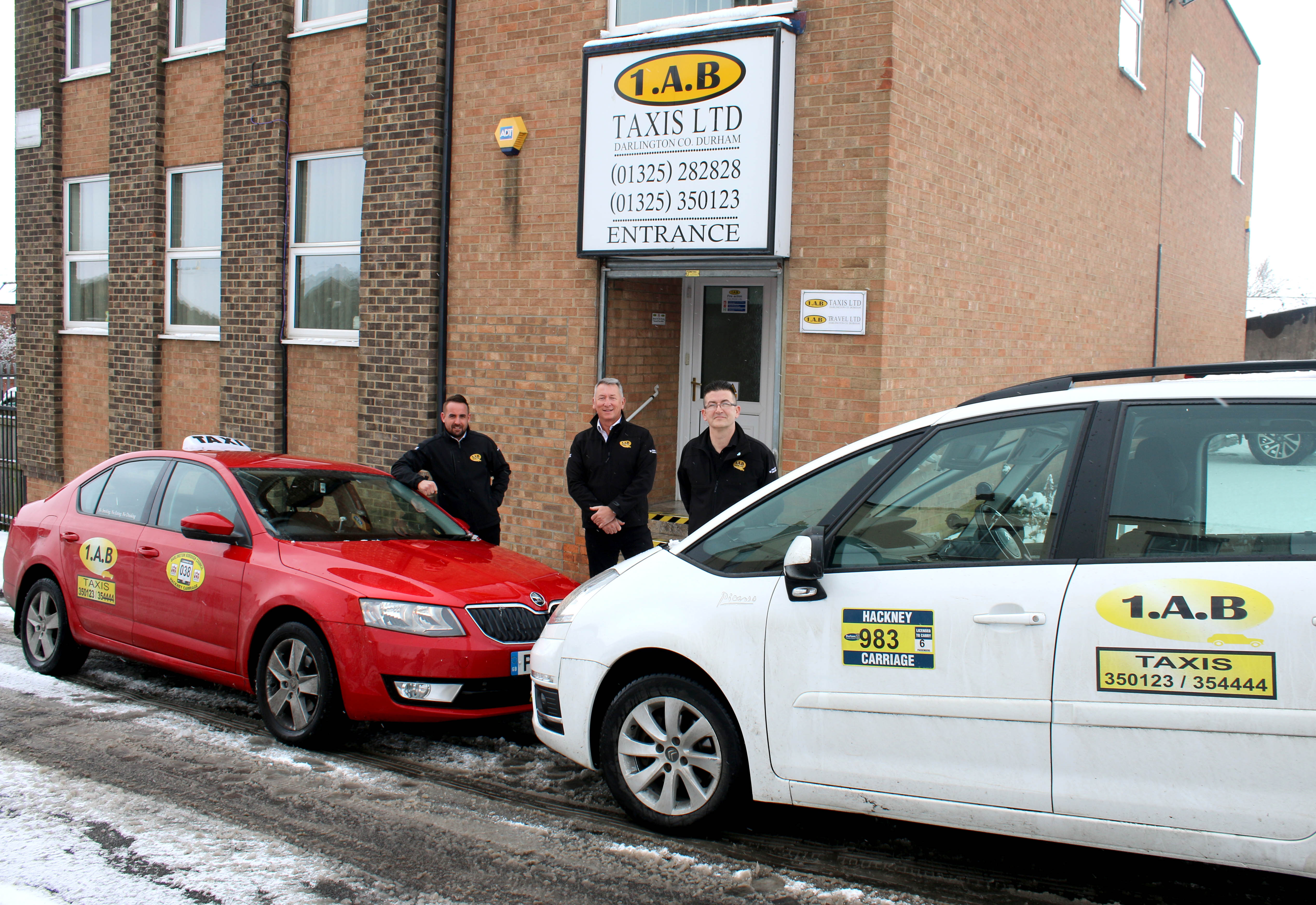 Darlington 1AB Taxi Company Opens in Aycliffe