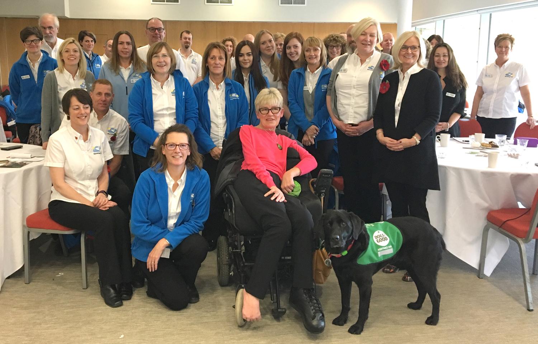 Dog Lovers Help Change & Enrich Lives