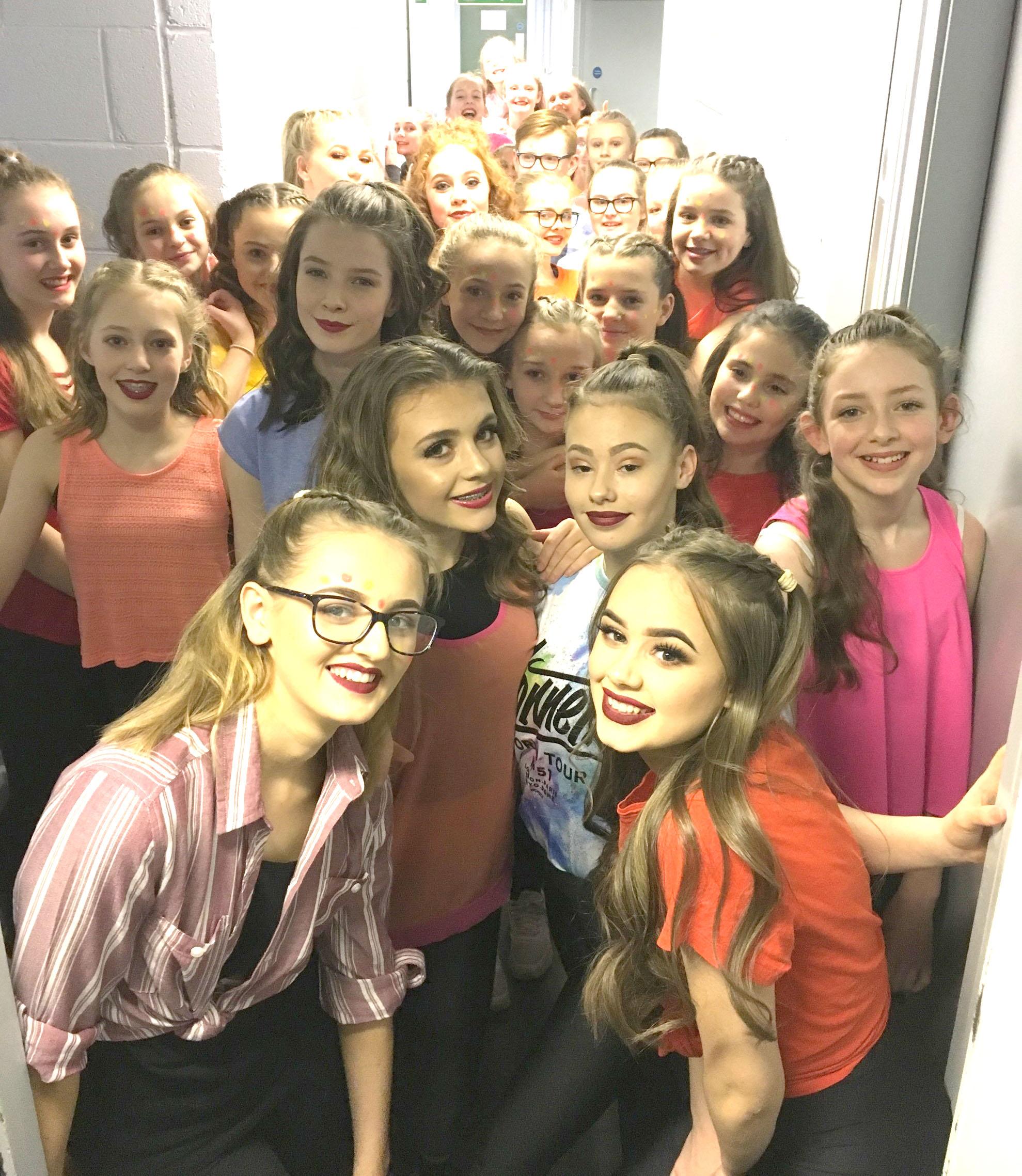 Student Dancers Showcase Talent