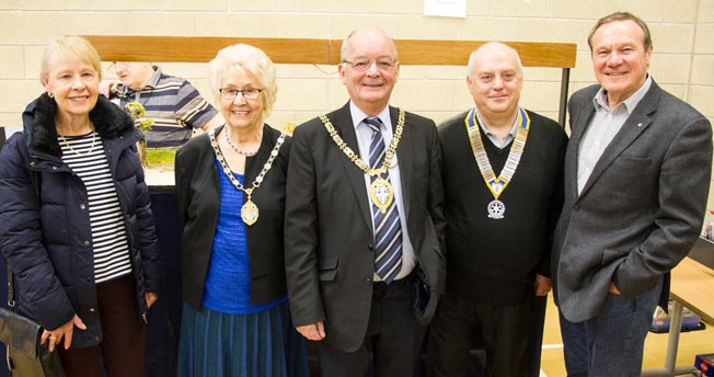 Exhibition Raised £2000 for Charity