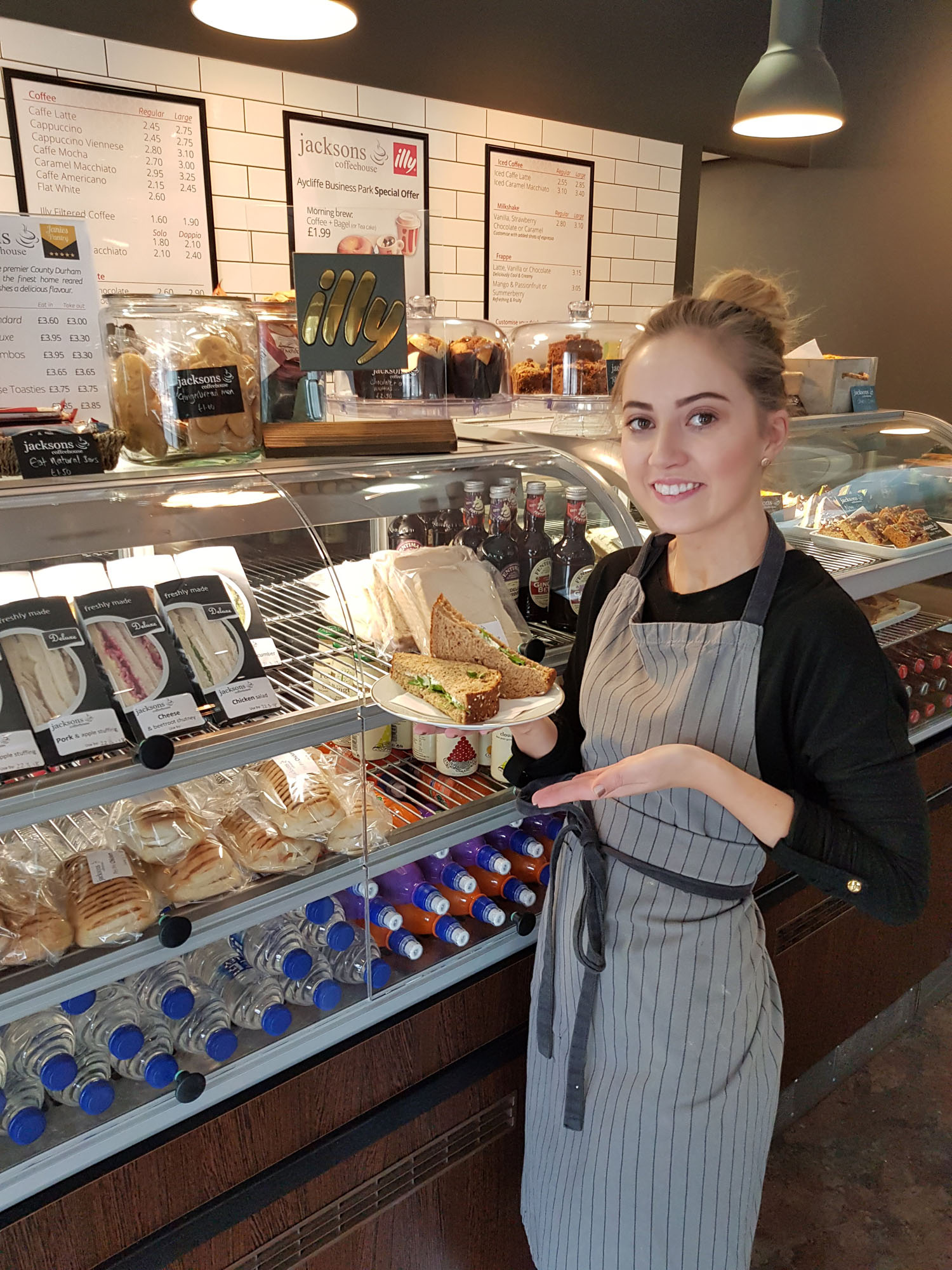 Coffeehouse Supports Local Supplier