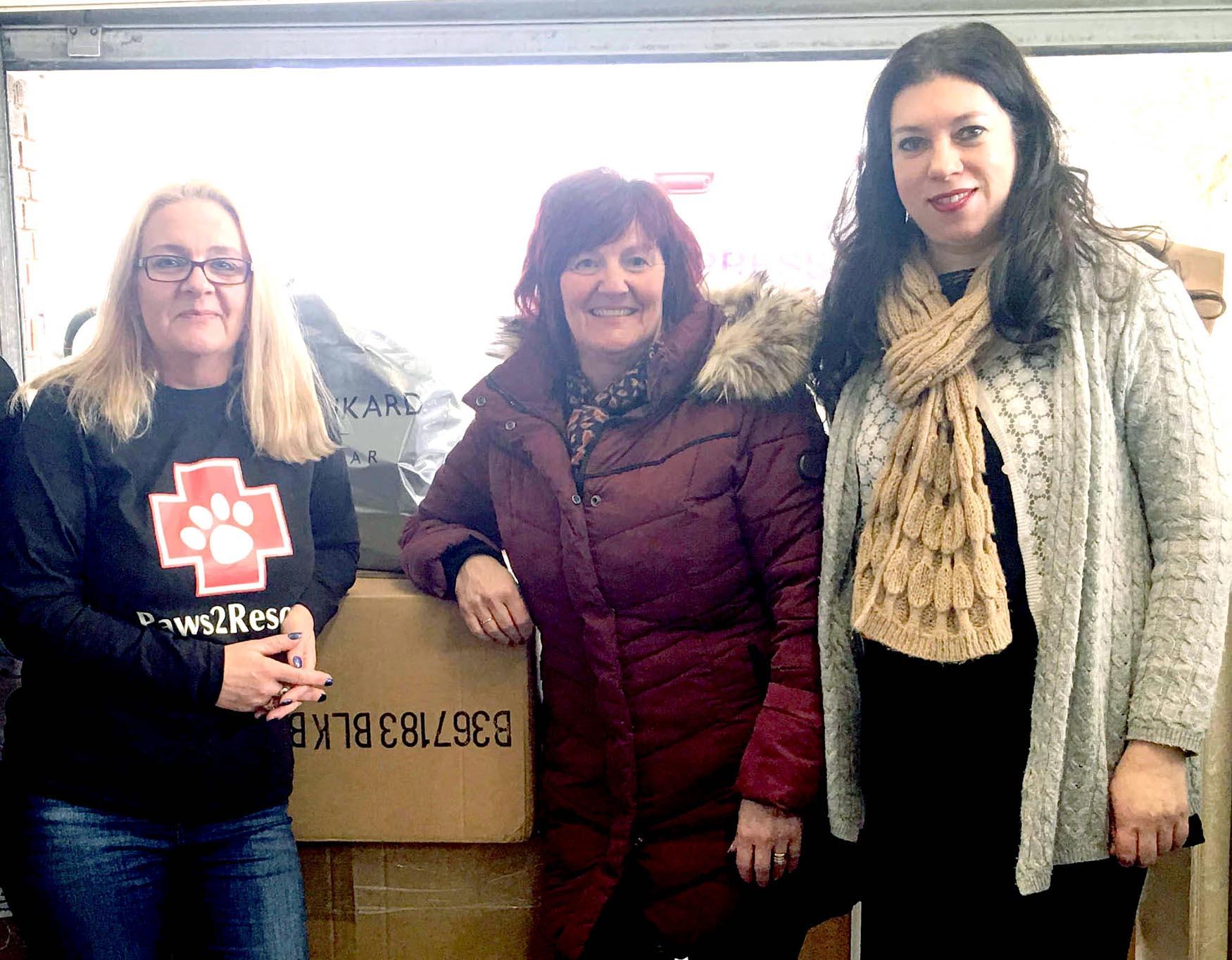 Newtonians Send Shoeboxes to Poor Children in Romania