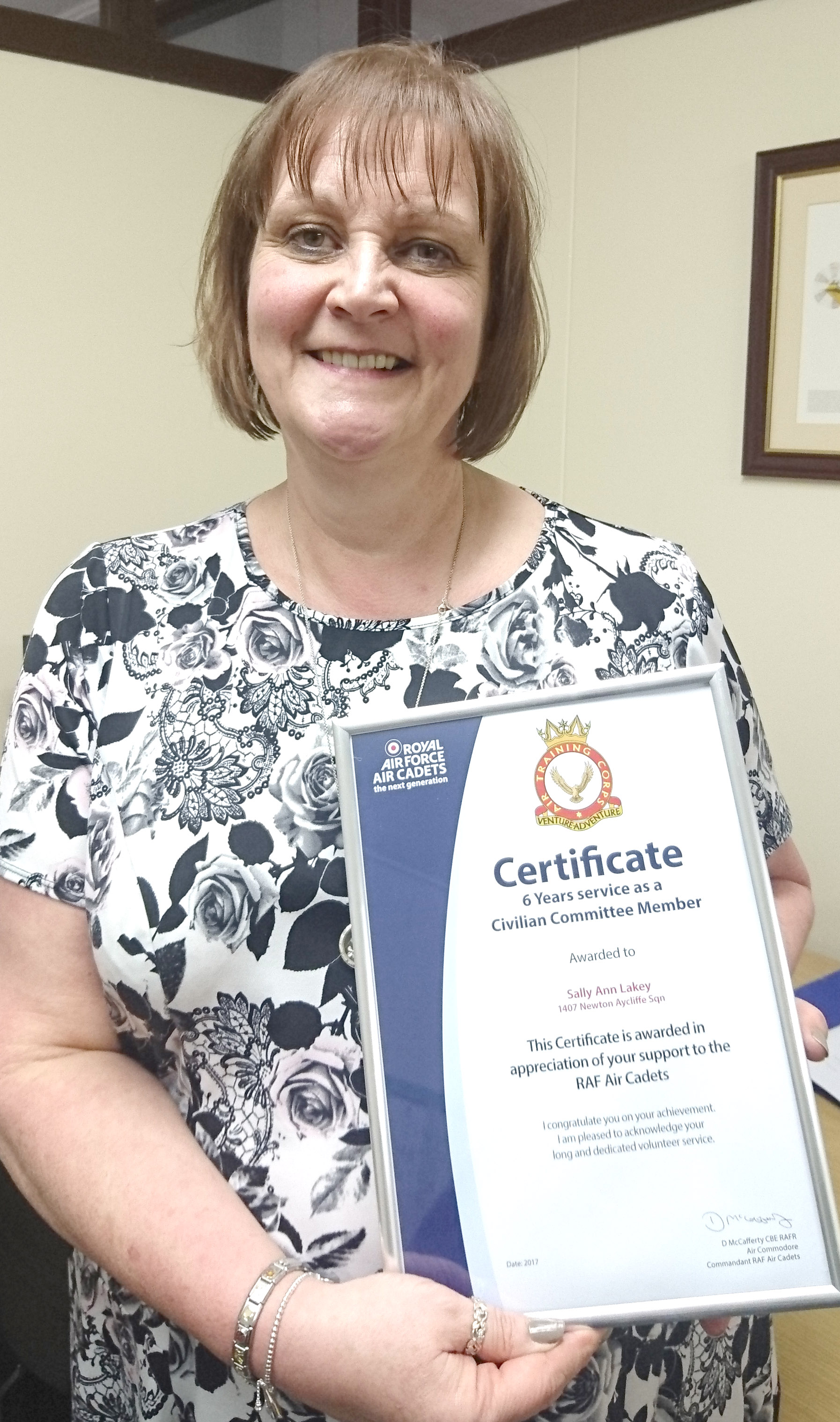 Top Award for Long Serving Chairperson
