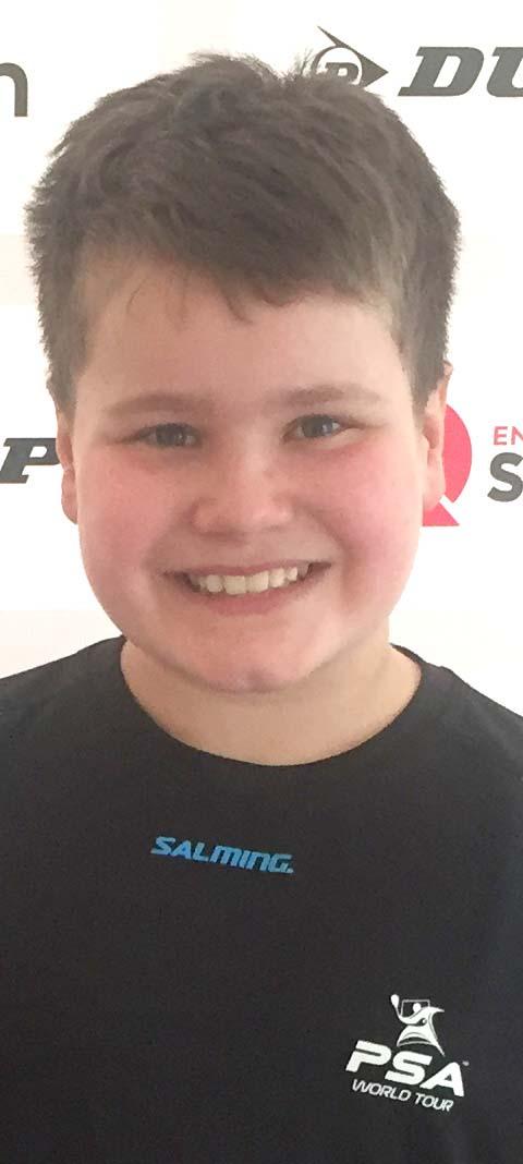England's Under 11's No. 8 Squash Player