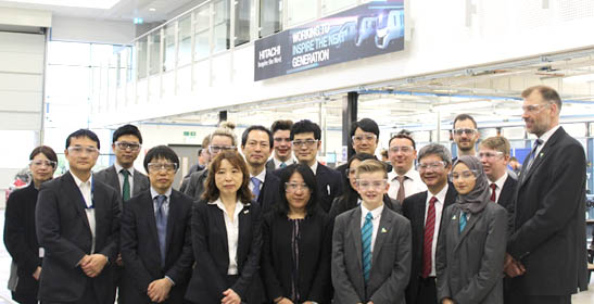 Aycliffe UTC Receive Visit  from Japanese Embassy