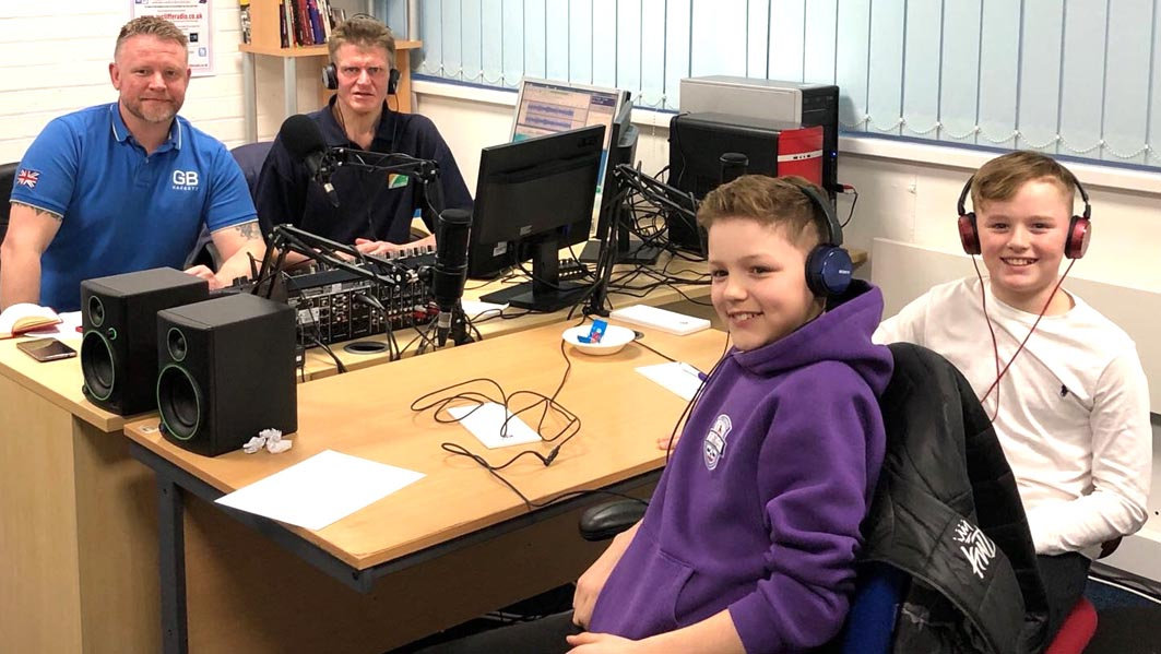 Ice Hockey Guests on Aycliffe Radio