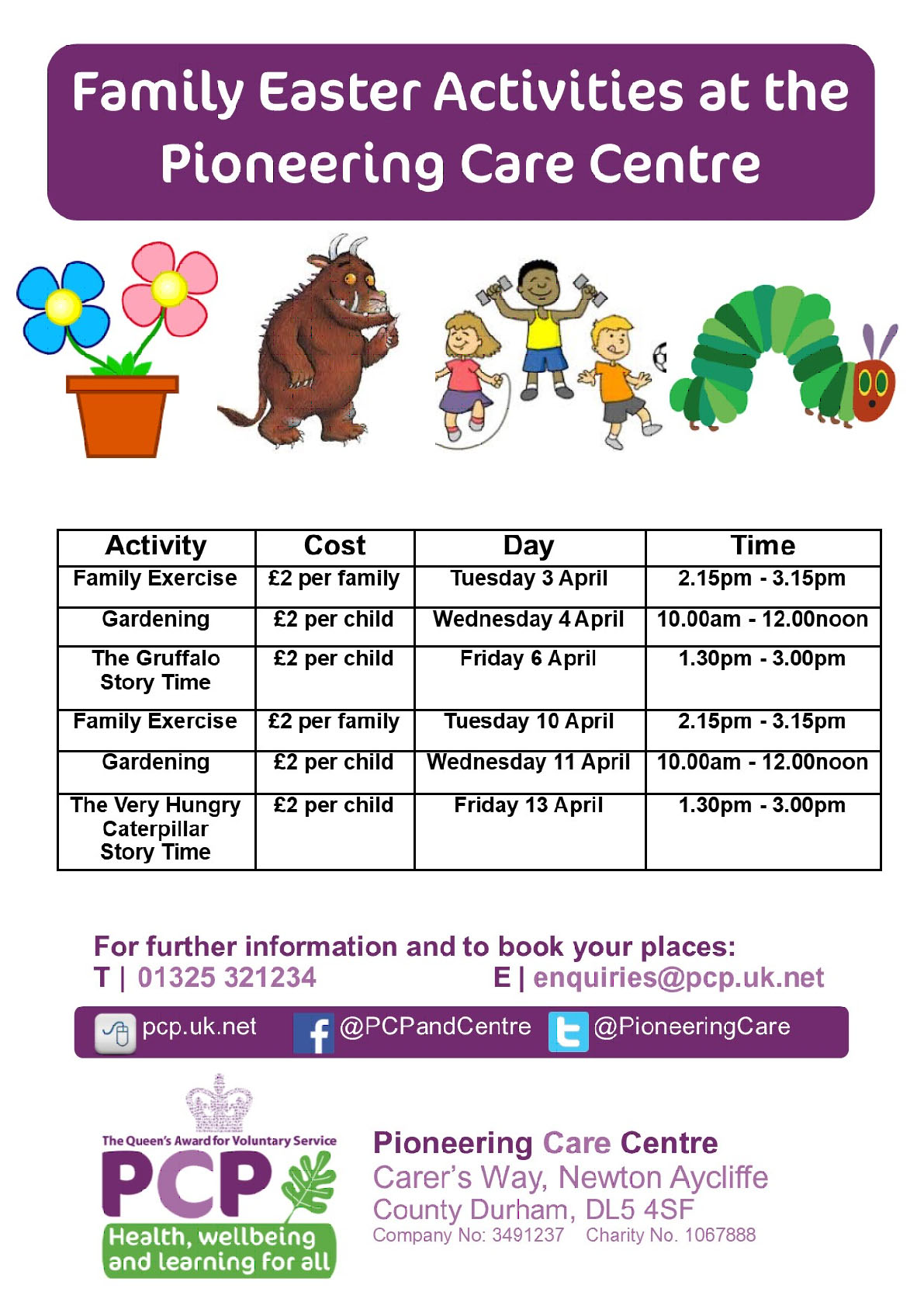 Family Easter Fun at the PCP Centre