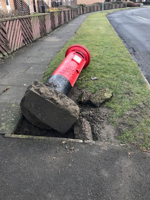 Post Box Hits the Floor